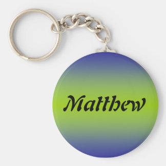Matthew Key Ring