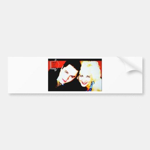 Matthew Rappaport & Jane Ellen Do Vegas Bumper Sticker