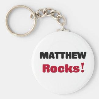 Matthew Rocks Keychains