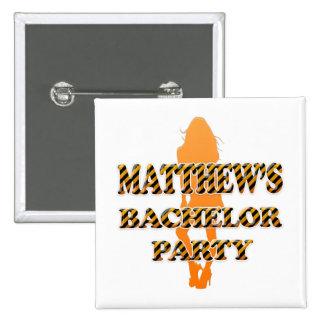 Matthew's Bachelor Party Pins