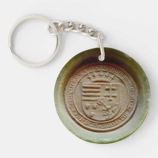Matthias Corvinus seal budapest museum hungary his Key Ring