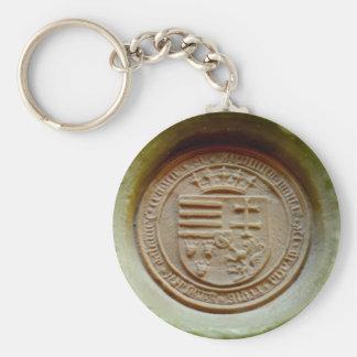 Matthias Corvinus seal budapest museum hungary Key Ring