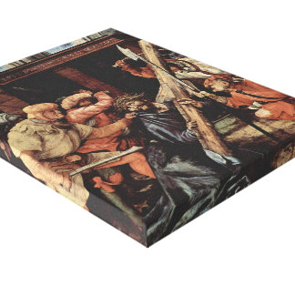 Matthias Grünewald- Christ Carrying the Cross Stretched Canvas Prints