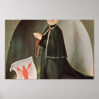 Matthias Grünewald- Heller Altarpiece (detail) Print