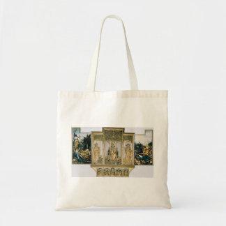 Matthias Grünewald- The second view of the altar Canvas Bags