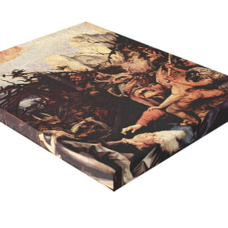 Matthias Grünewald- The Temptation of St. Anthony Gallery Wrapped Canvas
