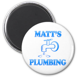 Matt's Plumbing Magnets