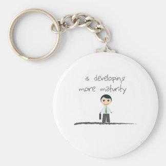 Mature Boy Keychain