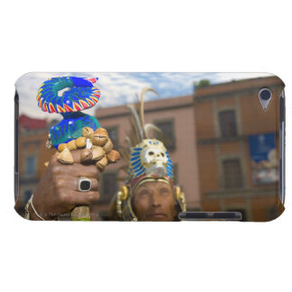 Mature man in traditional clothing, Mexico City, iPod Touch Cases