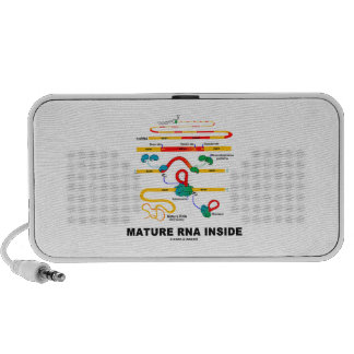 Mature RNA Inside Biology Humor Laptop Speakers