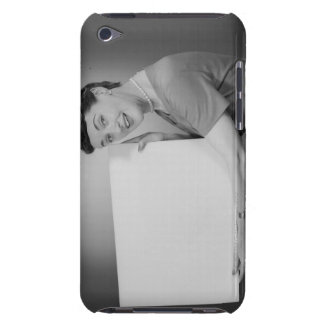 Mature Woman iPod Case-Mate Cases