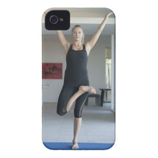 Mature woman exercising 2 Case-Mate iPhone 4 case