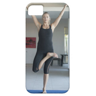 Mature woman exercising 2 iPhone 5 cover