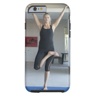 Mature woman exercising 2 tough iPhone 6 case
