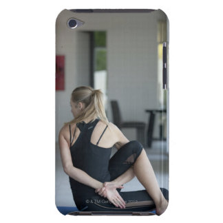 Mature woman exercising 4 iPod Case-Mate cases
