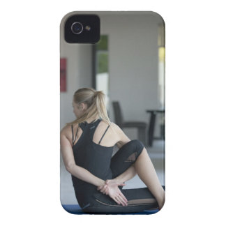 Mature woman exercising 4 iPhone 4 case