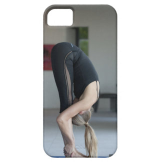 Mature woman exercising barely there iPhone 5 case