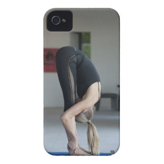 Mature woman exercising iPhone 4 Case-Mate case