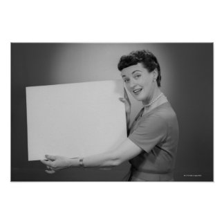 Mature Woman Poster