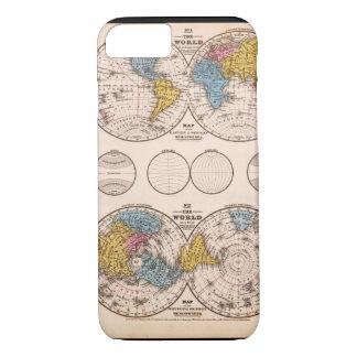 Matured World Map 28 iPhone 7 Case