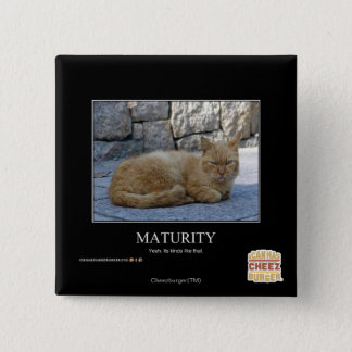 Maturity 15 Cm Square Badge