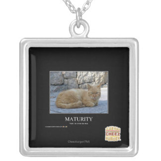 Maturity Silver Plated Necklace