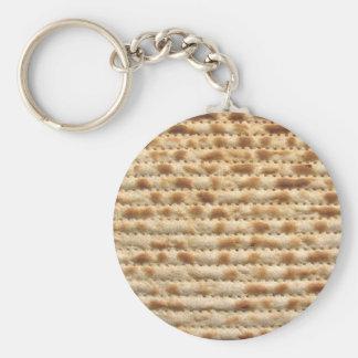 Matzah biscuit flatbread key ring