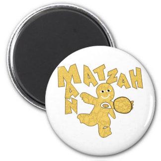 Matzah Man 6 Cm Round Magnet