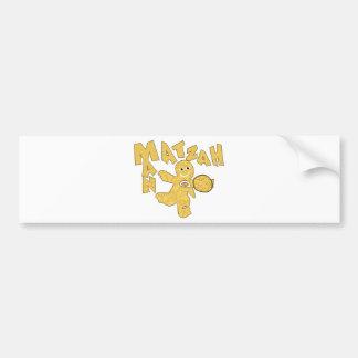 Matzah Man Bumper Sticker