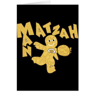 Matzah Man Greeting Card