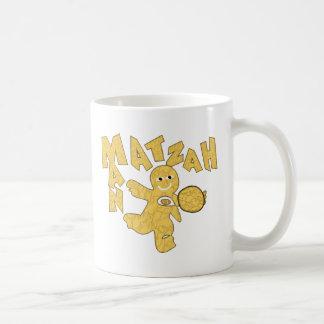 Matzah Man Coffee Mugs