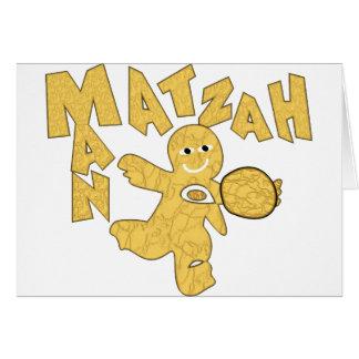 Matzah Man Note Card