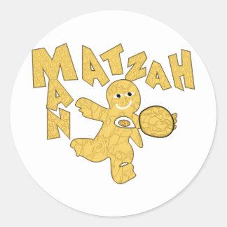 Matzah Man Sticker