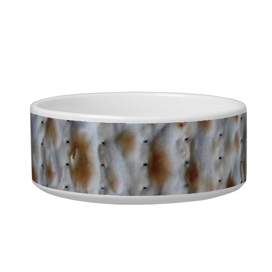 Matzah small food dish for a pet