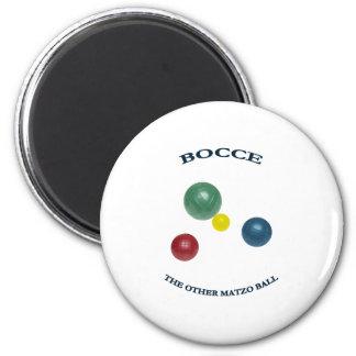 Matzo Bocce Ball 6 Cm Round Magnet