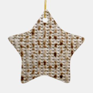 MATZO DESIGNS FOR PESACH CERAMIC STAR DECORATION