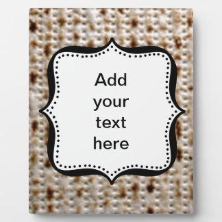 MATZO EASEL PICTURE FRAME PLAQUE