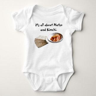 Matzo & Kimchi Baby Bodysuit
