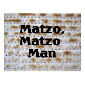 Matzo, Matzo Man Postcard