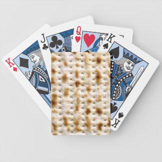 Matzo Playing Cards! Bicycle Poker Deck
