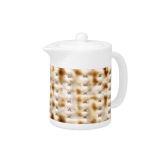 Matzo Tea Pot - Kosher l' Pesach Matzo