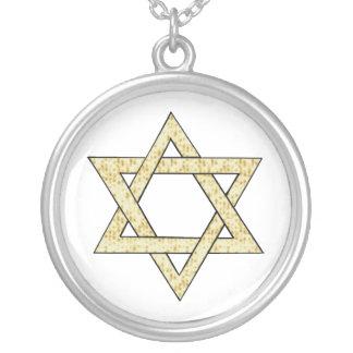 Matzoh Star of David Custom Necklace