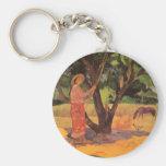 'Mau Taporo' - Paul Gauguin Keychain