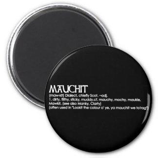 Mauchit 6 Cm Round Magnet
