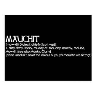Mauchit Postcard