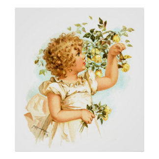 Maud Humphrey: English Child Poster