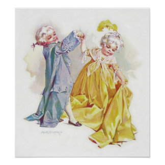 Maud Humphrey s Dancing Children Print