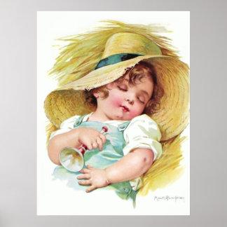 Maud Humphrey s Sleeping Child Poster