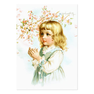 Maud Humphrey: Spring Girl under the Orchard Tree Large Business Cards (Pack Of 100)
