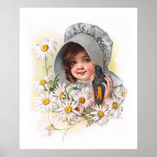 Maud Humphrey's Daisy Girl Posters